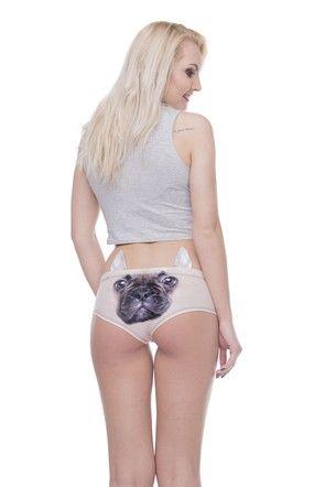 Kalhotky Bulldog béžové