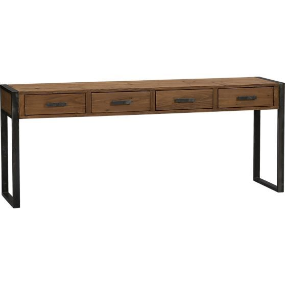Console Tables Crate And Barrel And Consoles On Pinterest