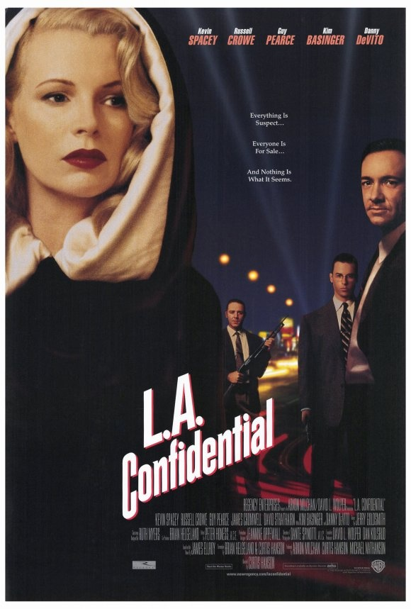 L.A. Confidential (1997). | Movies, Movies, Movies ...