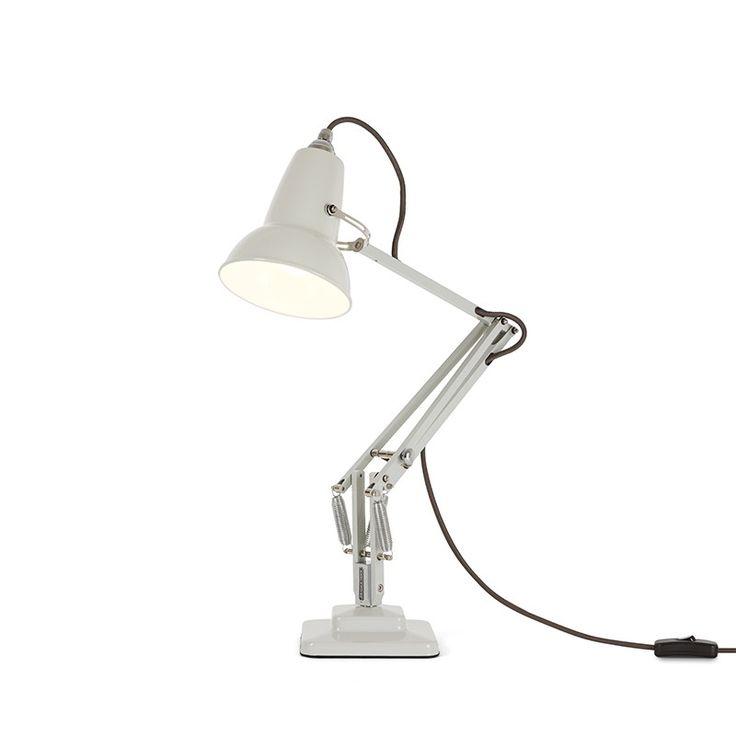 anglepoise lighting. anglepoise original 1227 mini desk lamp linen white lighting direct