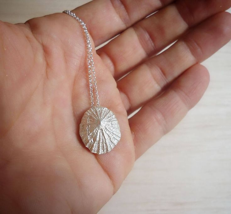 Sterling Silver Limpet Pendant with Sterling Silver Chain or Cord
