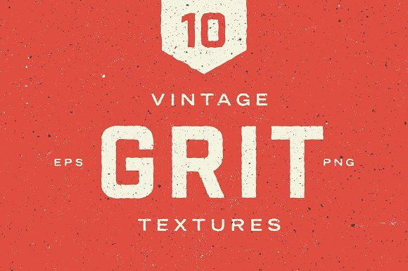 Vintage Grit Textures by GhostlyPixels on @creativemarket