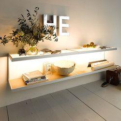 Shelving systems-Illuminated shelving-Storage-Shelving-Lighting system 6 Wall shelf- & 25+ best GERA Leuchten images by Top Kitchen u0026 Living on Pinterest ...