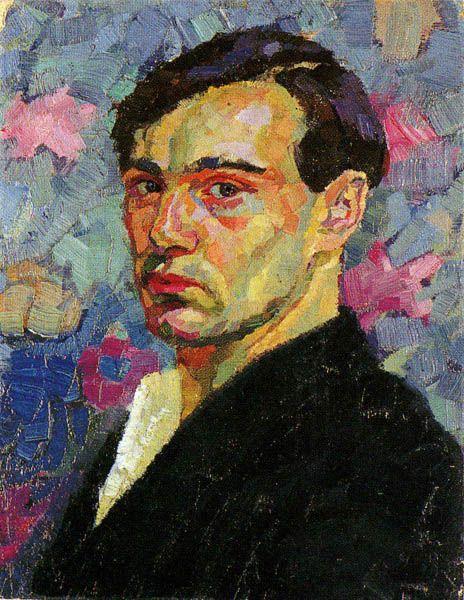 © Klaus Stöber Self-Portrait, 1912  Oil on canvas (42x33 cm) - Private Collection