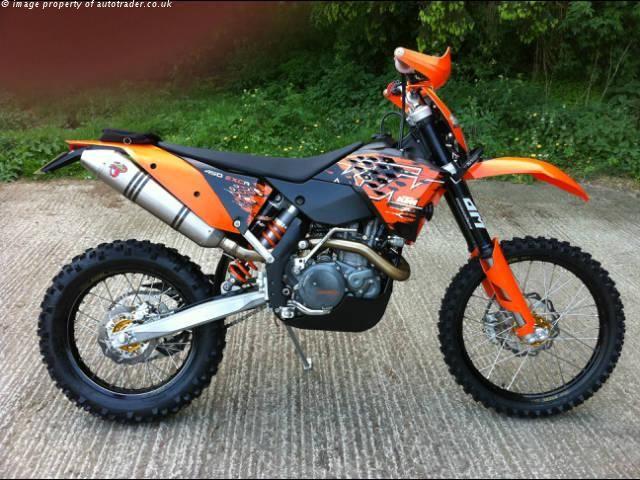 KTM EXC 450 450 cc ENDURO - http://motorcyclesforsalex.com/ktm-exc-450-450-cc-enduro/