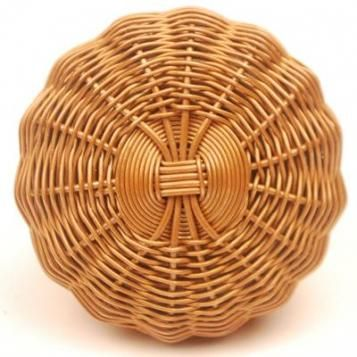 Bronze Colored Metal Wire Weaved Knob - PotteryVille