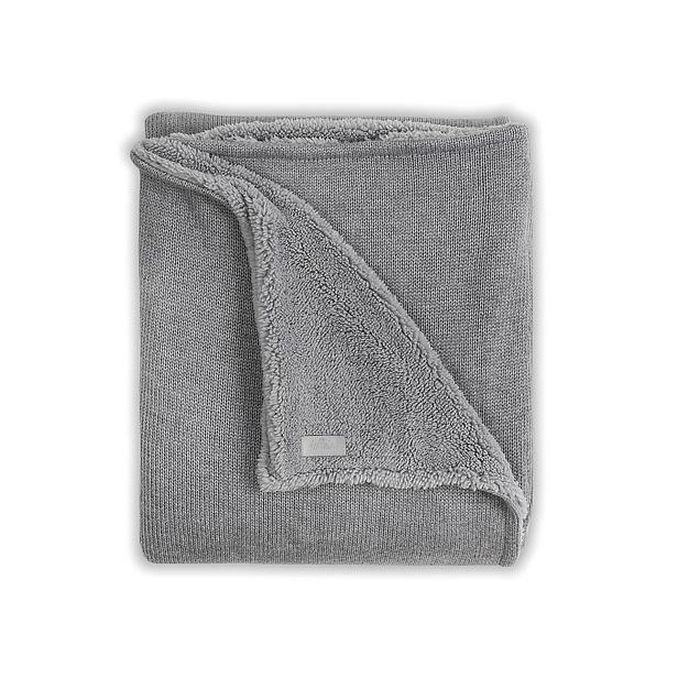 Jollein 100x150 cm Natural Knit winter ledikantdeken 100x150 cm grijs? Bestel nu bij wehkamp.nl