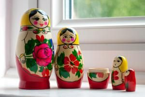 embedding - nesting dolls - (Sharon Vos-Arnold/Getty Images)