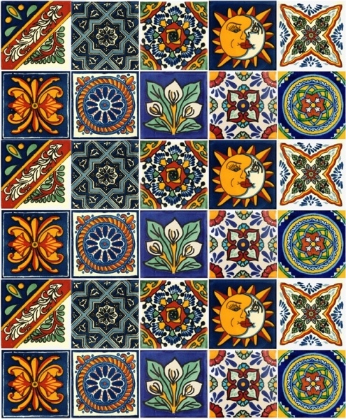 18 best mexikanische fliesen images on pinterest mexican tiles mexico and arte mexicano. Black Bedroom Furniture Sets. Home Design Ideas