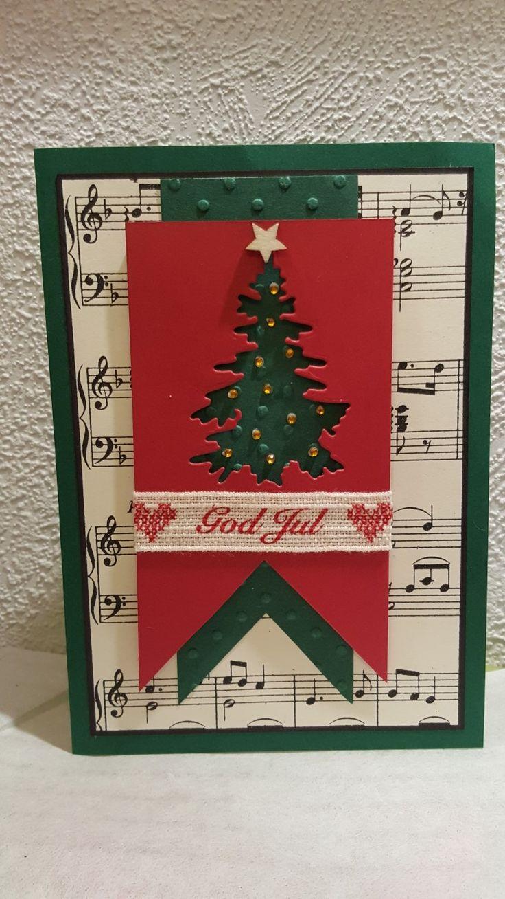 """Julekort 2017 """"God jul"""""""