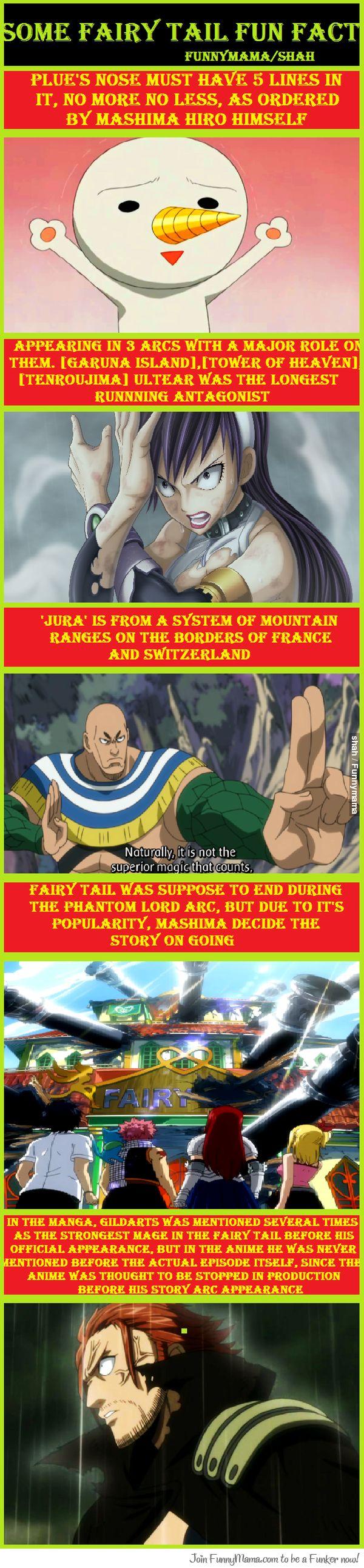Some Fairy Tail Fun Fact