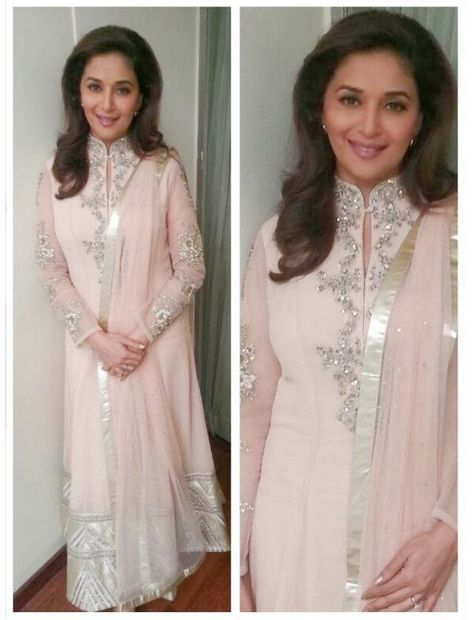 Fashion: Madhuri Dixit in Beautiful Designer Outfits 2014