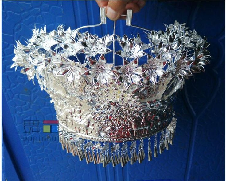 Miao silver Headdress Minority dance Miao silver Hat  -in Chinese Folk Dance from Novelty & Special Use on Aliexpress.com | Alibaba Group