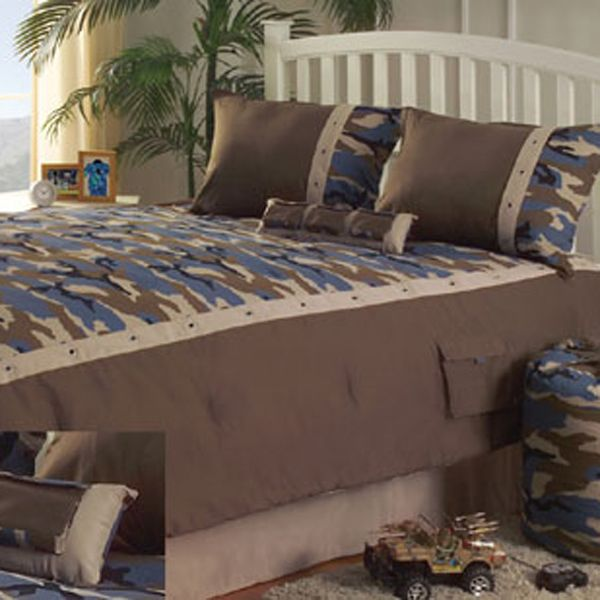girls camo bedroom? | kids-camo-beddingkathy-ireland-americana-blue-khaki-camouflage-bedding ...