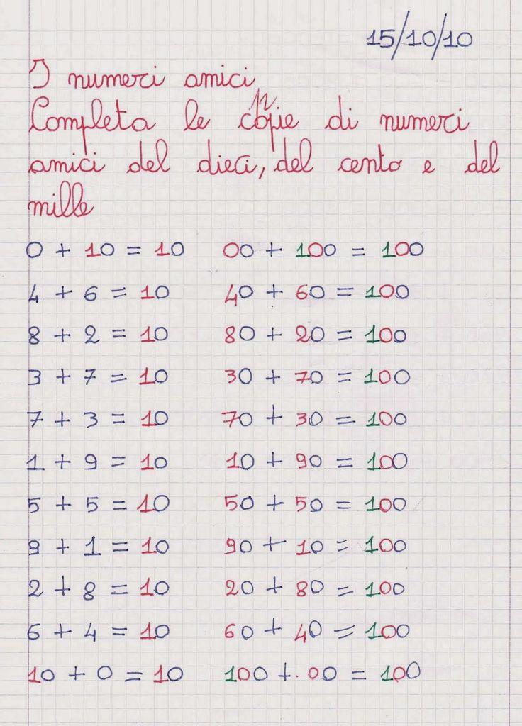 Didattica Scuola Primaria: Matematica classe terza