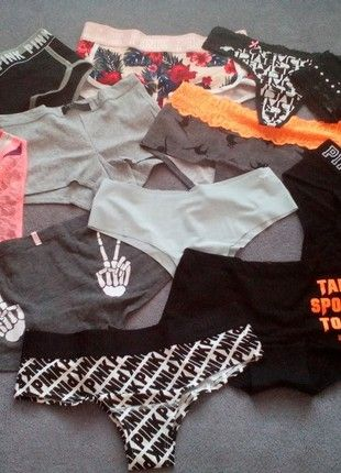Kupuj mé předměty na #vinted http://www.vinted.cz/damske-obleceni/kalhotky-a-tanga/18444304-set-novych-kalhotek-victorias-secret-pink