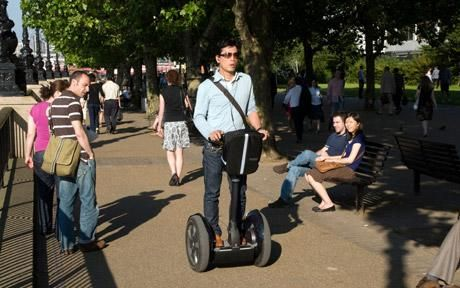 A Segway being used in London