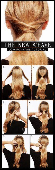 10 Möglichkeiten, süße alltägliche Frisuren zu machen: Langes Haar Tutorials   – BobFrisuren