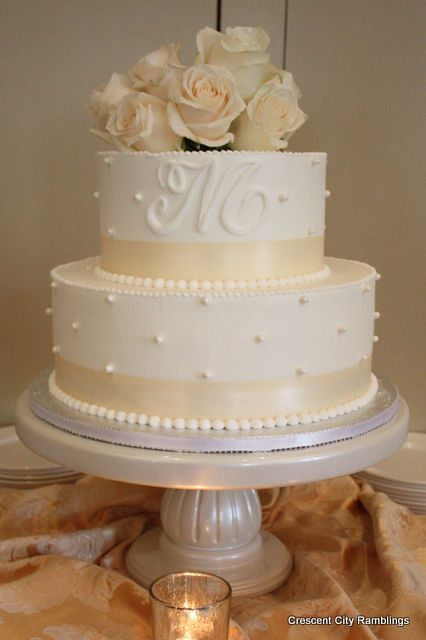 My Bridal Shower cake from Ambrosia Bakery in Baton Rouge: Crescent City Ramblings