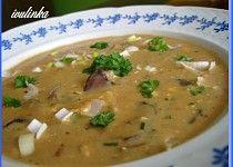 Houbová polévka na paprice