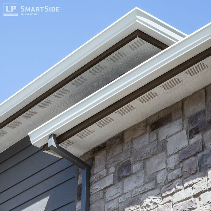 1000 images about lp smartside trim fascia and soffit on for Lp engineered wood siding