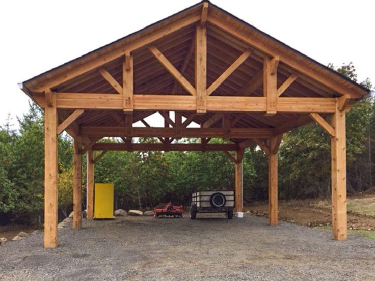 Building An Easy Diy Rv Cover Diy Carport Carport Kits
