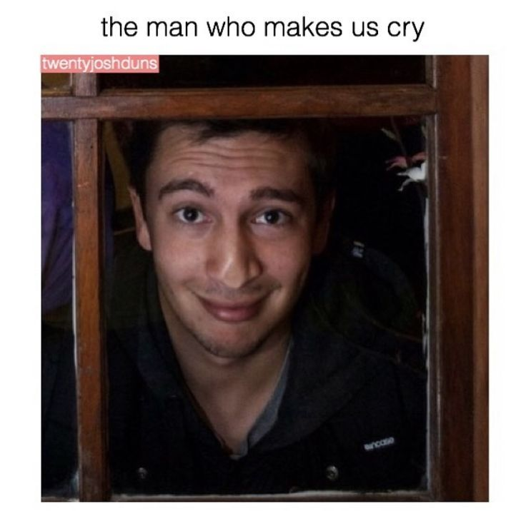 The man who makes us cry