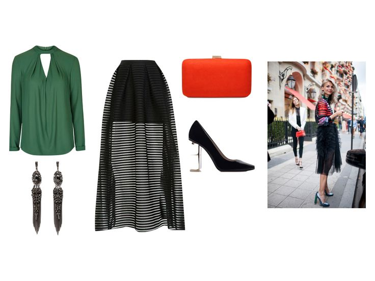8 DAYS TILL CHRISTMAS - THE STATEMENT SKIRT http://www.cravepersonalstyling.com/blog/8days-statementskirt