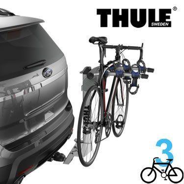 Thule 9043 - Helium Aero 3 Bike Rack - For 2 or 1-1/4 Inch Hitch