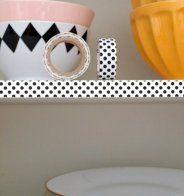 Ce qu'on peut faire avec du Masking Tape: 15 inspirations - Marie Claire Maison