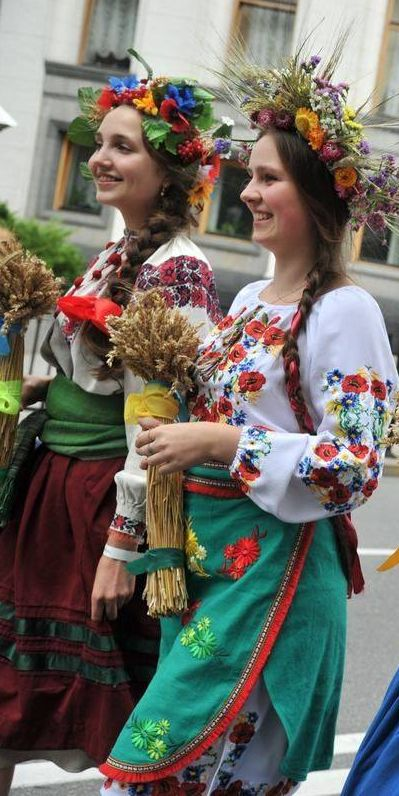 Ukraine Happiness. Even happier without USA financed fascist army