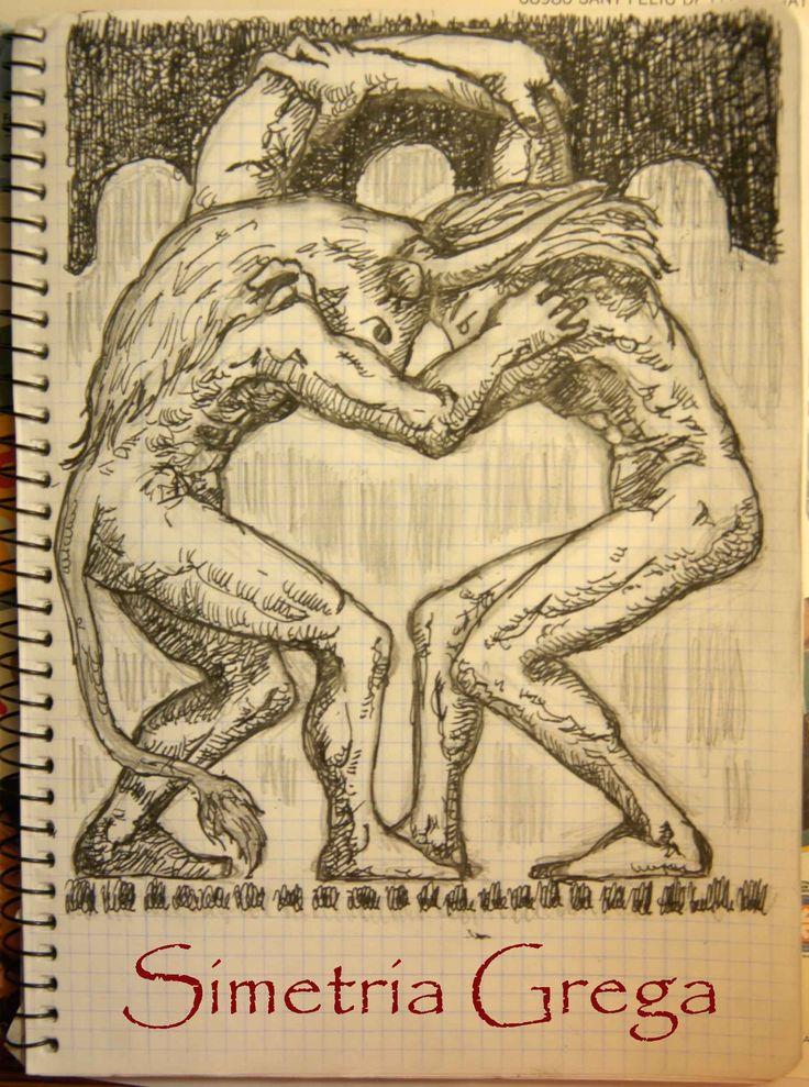 Simetria grega el meu quadern de dibuixos pinterest - Housse de coussin 65 65 ...