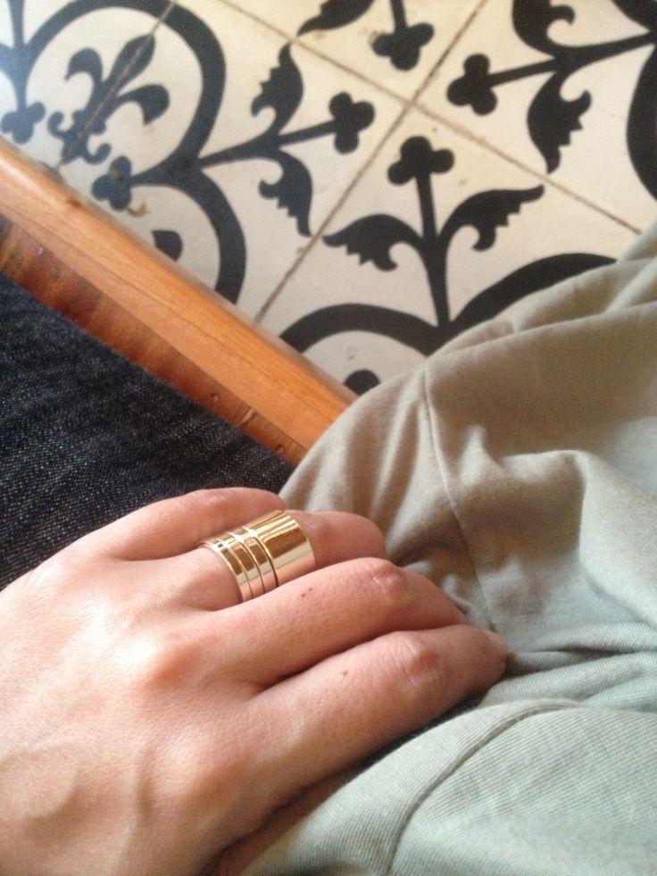 rings #zara #stacked
