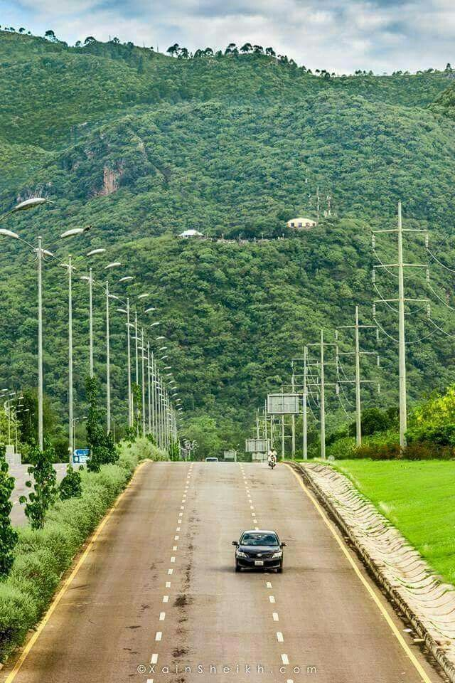 Islamabad the green city | Margalla Hills in backdrop.  http://www.arcon.pk/architectural