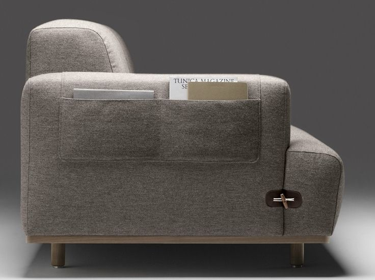 DUFFLE Sofa With Chaise Longue By Bosc Design Jean Louis Iratzoki