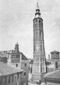 La torre nueva.Zaragoza.