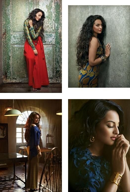 Sonakshi Sinha's editorial photoshoot for Verve India - July 2012 | PINKVILLA