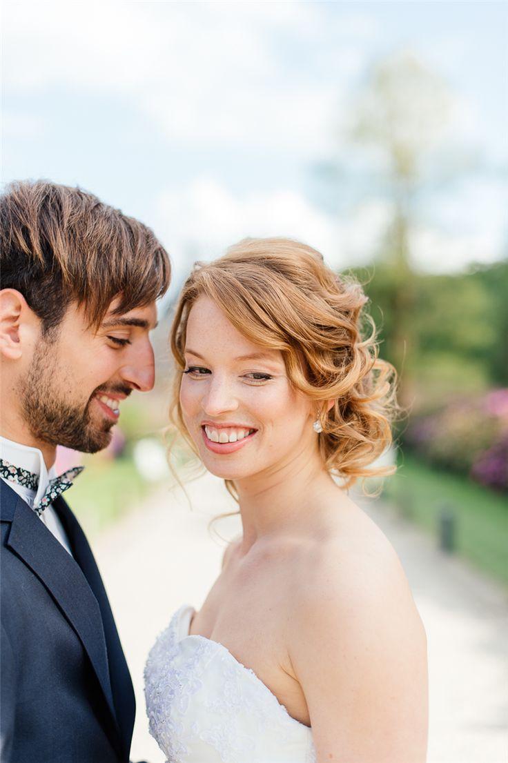 bruidskapsels half opgestoken met sluier - Google zoeken