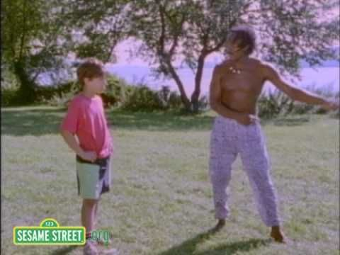 Sesame Street: Capoeira Dance Class-A boy tries capoeira for the first time.