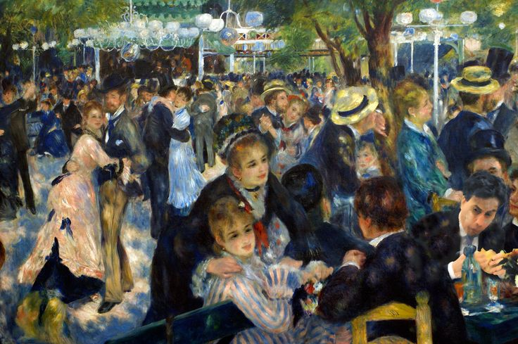 Auguste Renoir – Bal du moulin de la Galette with Ed Miliband eating a bacon sandwich.