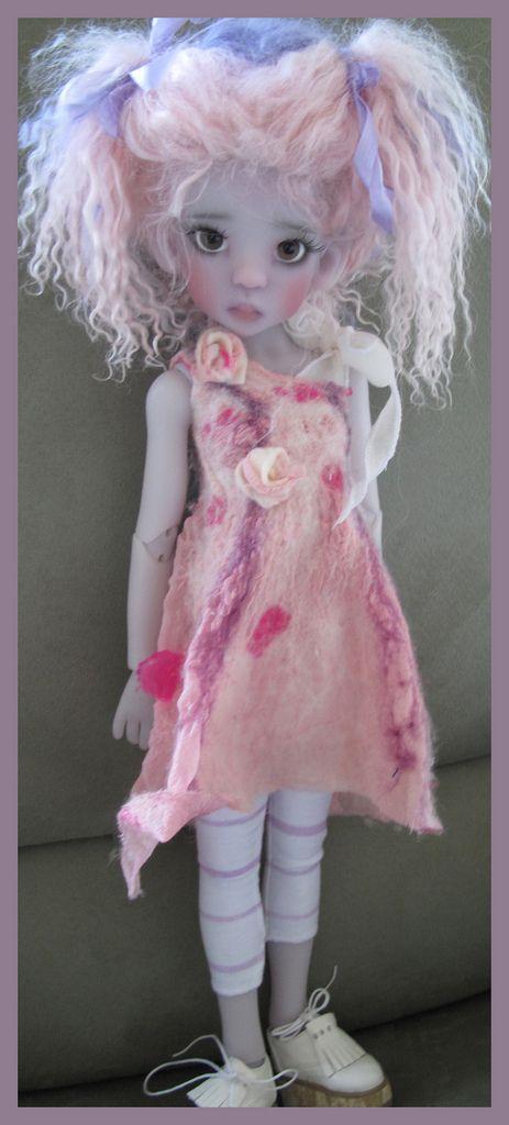 cute doll by Kaye Wiggs