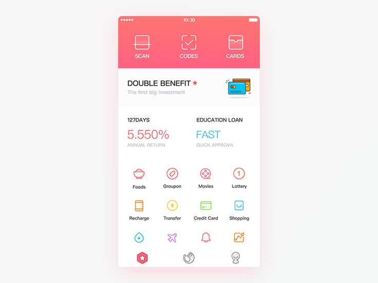 A Wallet UI Redesign