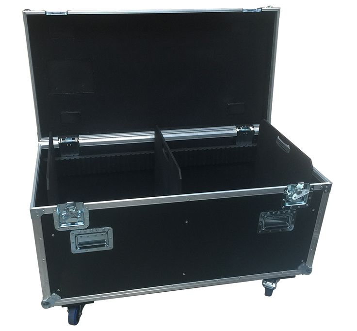 4ft Road Trunk with lid depth 90mm, label dish, castor dishes etc. Manufactured using 9mm PVC Material