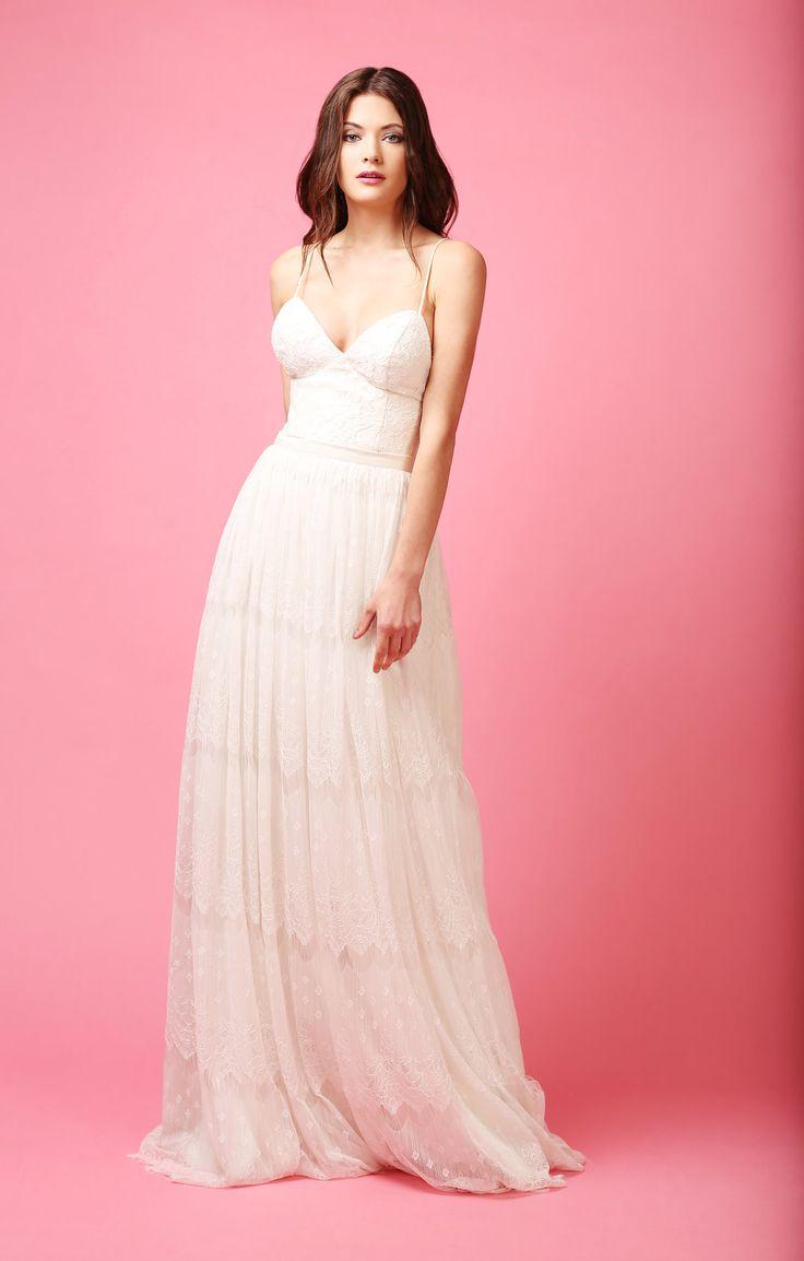MATCH MADE BRIDAL || ALEX TOP  + MISTY LACE SKIRT #bridalseparates
