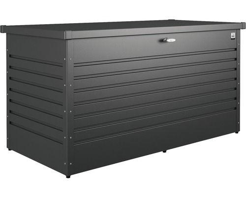 Auflagenbox biohort 160 High, dunkelgrau-metallic