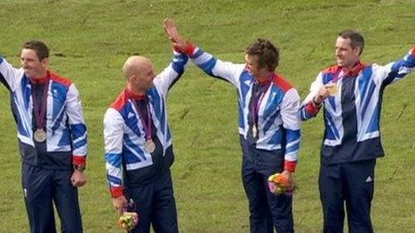 London 2012 Olympics - David Florence : Great Britain & N. Ireland, Canoe Slalom