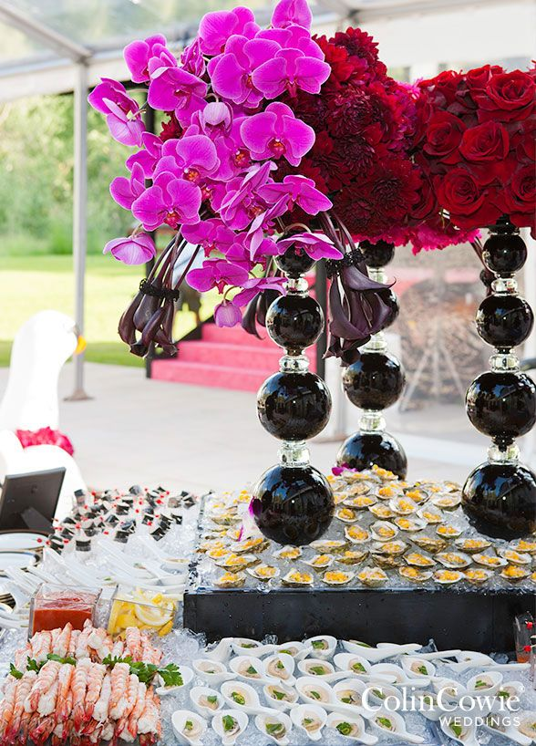 Buffet, Mariage Catering, Food Bar, Idées Party alimentaires || Colin Cowie Mariages