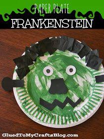 Paper Plate Frankenstein {Kid Craft}
