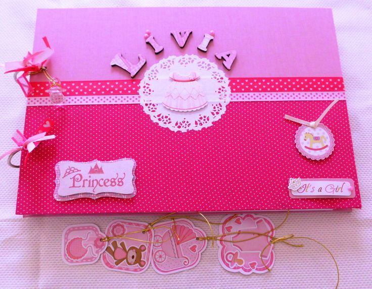 Livro de assinaturas - Pink e rosa kecaatelie@gmail.com