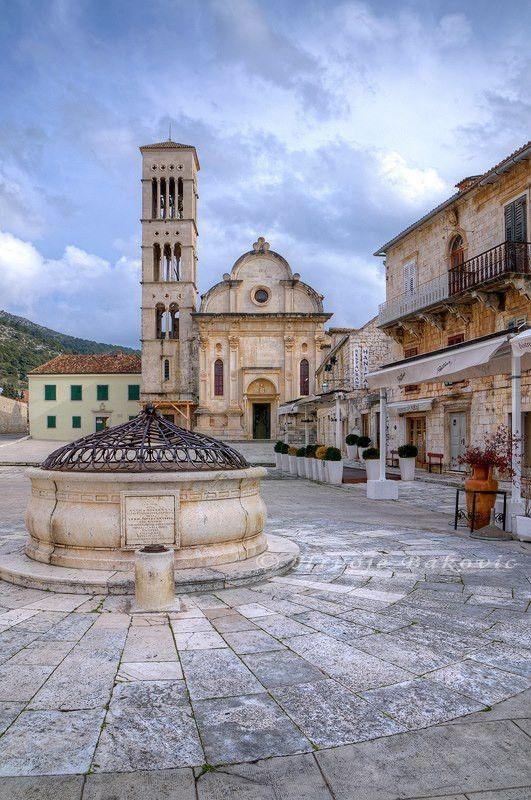 Cathedral of St. Stephen in Hvar (photo: Hrvoje Bakovic) #Dalmatia #Croatia #travel